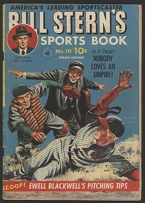 BILL STERN'S Sports Book #10, 1951, Approved Comics
