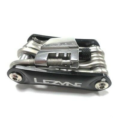 Lezyne RAP-20 Multi Tool, Forged Aluminum