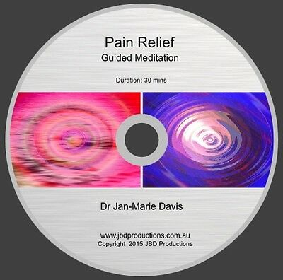 Guided Meditation CD for Pain Relief by Jan-Marie Soothing Music & Voice