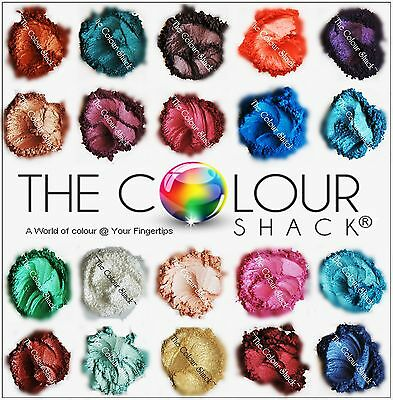 THE COLOUR SHACK ® SOAPERS DELIGHT SAMPLE PK 12 x 1g COSMETIC GRADE