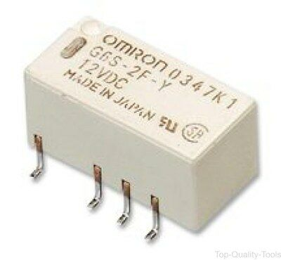 Omron Electronic Components, G6Su2F5Dc, Relay, Dpdt, 2A, Smd, Latching