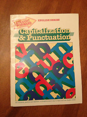 Capitalization & Punctuation by S. Harold Collins (1990, Paperback)