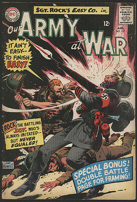 Our ARMY at WAR #157, 1965, DC Comics - VG