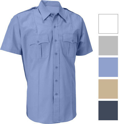 Official Police Security Uniform Short Sleeve Shirt