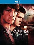 Supernatural: The Complete Third Season Blu-ray NEW SEALED