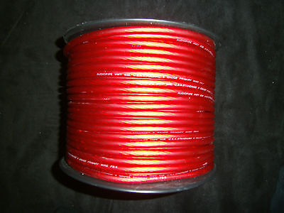 8 GAUGE WIRE 20 FT AWG CABLE RED SUPER FLEXIBLE PRIMARY STRANDED POWER GROUND