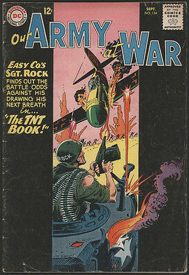 Our ARMY at WAR #134, 1963, DC Comics - VG