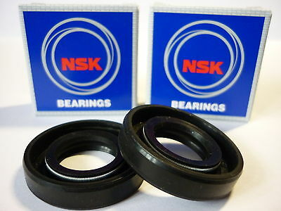 Lambretta Nsk Front Wheel Hub Bearings And Oil Seals