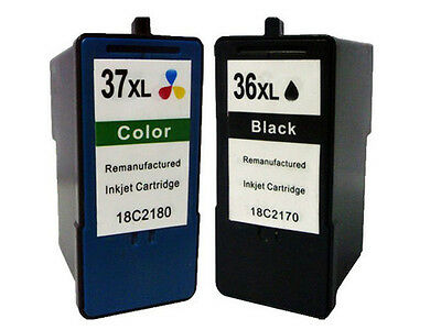 REFRESH CARTRIDGES #50 #60 3xBLK//2xCOL 5 PACK INK COMPATIBLE WITH LEXMARK PRINTE