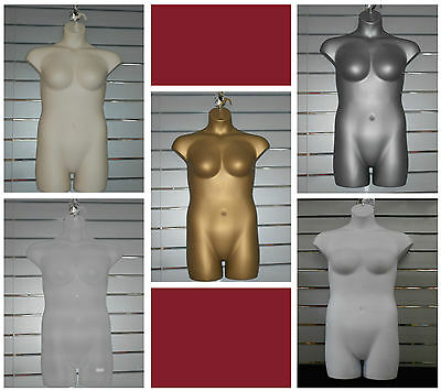 Hanging Female PLUS SIZE  Shop Display Body Form Mannequin