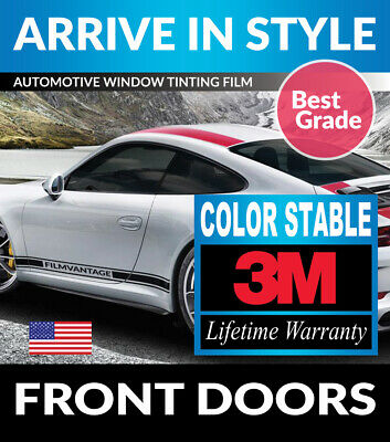 Precut Front Doors Tint W/ 3M Color Stable For Mazda B2200 B2600 Ext 88-93