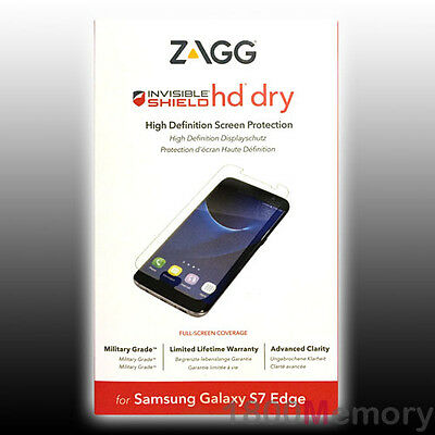 ZAGG INVISIBLESHIELD HD Dry Screen Protector for Samsung