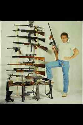 767098 Selection Of Semi automatic Rifles Pistols And Revolvers A4 Photo Print