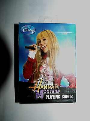 1 Deck Hannah Montana Playing Cards by Bicycle -new sealed package