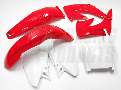 New UFO Motocross 5 Piece Plastic Kit HONDA CR 125 250 2005 - 2007