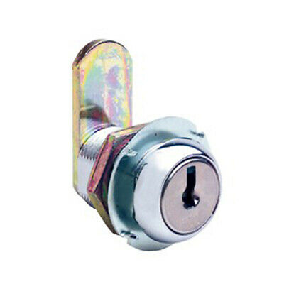 Firstlock Cam Lock NX22RKD Round 22mm 5 Disc KD Letterbox Cabinet Cupboard