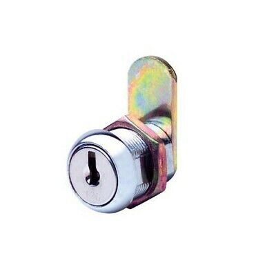 Firstlock Cam Lock NX19RKD Round 19mm 5 Disc KD Letterbox Cabinet Cupboard