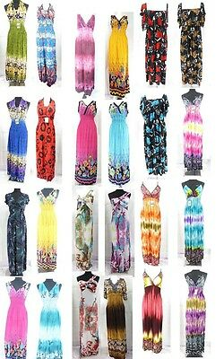 10 pcs wholesale long dresses bargain price summer women*Ship From US/Canada*