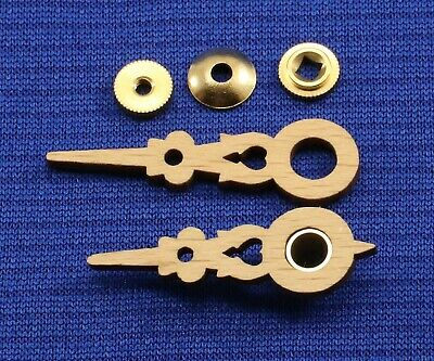 Cuckoo Clock Wood Hands New Parts To Fit a 70 mm Dial with Bushing