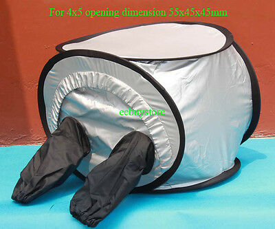 Professional 4x5 Film Changing Tent Double Layers And Double Zipper Anti-Static