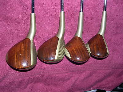Wilson Aggressor Offset Vintage Metal & 'Wood Insert' Set, w/R-Flex Steel Shafts