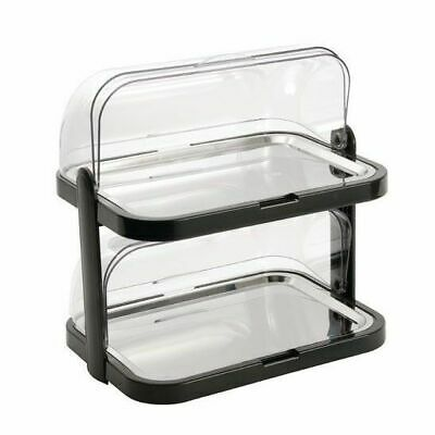 Cooling Tray w Roll Top Outdoor Platter 2 Tier APS 440x320x440mm Chilled NEW