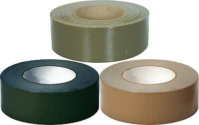 """100 MPH Tape Roll 2"""" x 60 Yards Self-Clinging USA Made Camouflage Military Tape"""