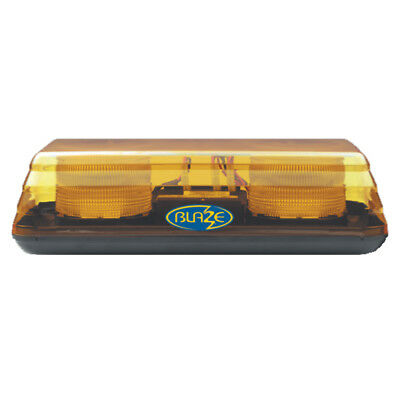 Vision Alert Blaze 2 Single Bolt LED Mini 40cm Lightbar Beacon 12/24V