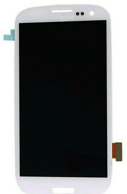 full Screen Glass digitizer lcd Assembly replacement white for SamSung GALAXY s3