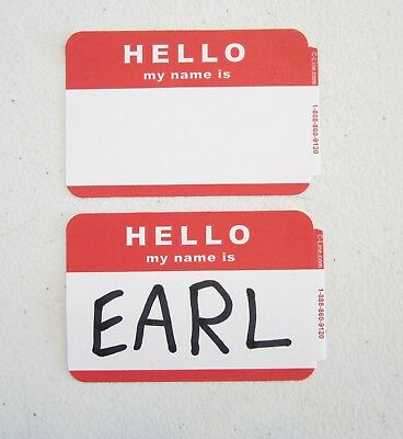 10 red hello my name is name tags labels badges sticker hello my