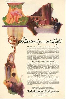 Macbeth - Evans Glass Co. - Glass and Candle Shades - Pittsburg - 1922
