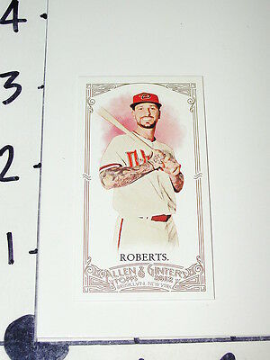 Ryan Roberts: 2012 Allen & Ginter #323 SP/25 A&G Mini / Tampa Bay Rays Eastfield