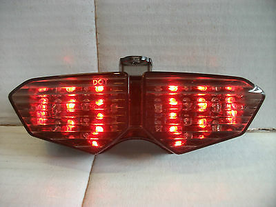 Led Motorcycle Rear Tail Stop Light + Indicator Streetfighter Enduro Zxr Ktm
