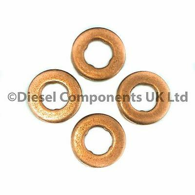 Peugeot 206 1.4 Hdi Diesel Injector Washers. Bosch Injectors. Pk Of 4