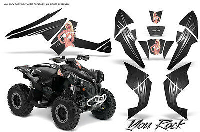 Can-Am Renegade Graphics Kit by CreatorX Decals Stickers YRB