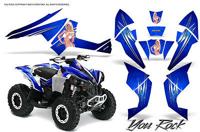 Can-Am Renegade Graphics Kit by CreatorX Decals Stickers YRBLW