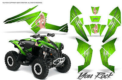 Can-Am Renegade Graphics Kit by CreatorX Decals Stickers YRG