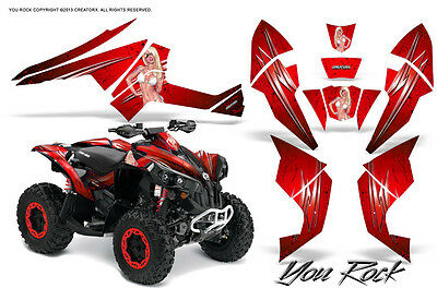 Can-Am Renegade Graphics Kit by CreatorX Decals Stickers YRRB