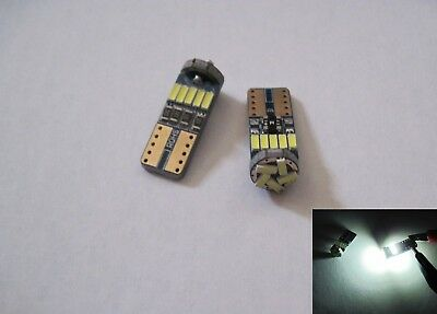 2 pcs Samsung 3W 6 SMD 5630 High power LED SMD 194 W5W White with Projector LEN