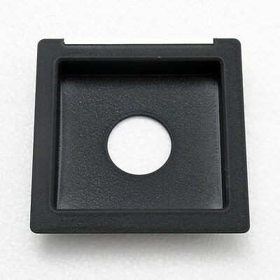 "Copal #0 20mm Recessed Lens Board 110x110mm For Toyo Omega 4x5"" Large Format"