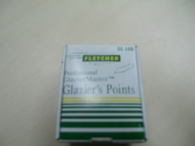Fletcher Glazier Points 8mm  x 5000 for Frame master