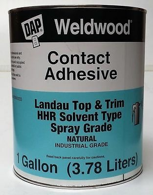 DAP Weldwood Contact Cement Gallon HHR Industrial Grade Landau Top & Trim