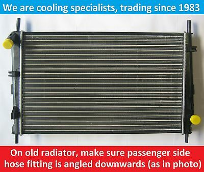 Brand New Radiator Ford Mondeo Mk1 / Mk2 1993 To 2000 / Cougar For Manual Cars