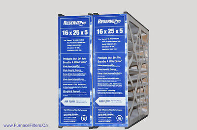 Generalaire Part # GF 4511 For 16 x 25 x 5 MAC 1400. Package of 2.