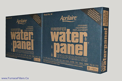 Aprilaire Part # 35 Humidifier Water Panel. Package of 2.