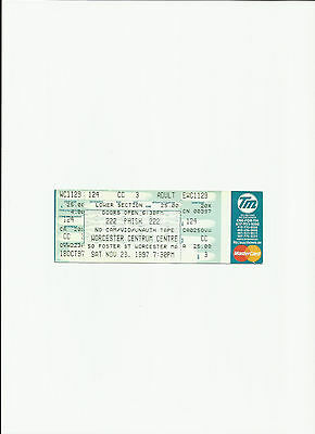Phish  Unused Concert Ticket / Stub  Excellent Condition Free Shipping