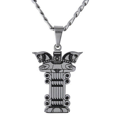 Persian Capital Of Column Winged Horse Necklace Farvahar Pahlavi Persia Gift Art