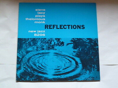 "STEVE LACY plays Thelonious Monk""REFLECTIONS""33giri NEW JAZZ 1983 ITALY"