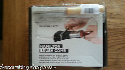 Hamilton Perfection Paint Brush Cleaning Comb 12595-00