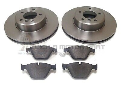 BMW E60 530i 530D M SPORT 2004-2010 FRONT 2 BRAKE DISCS AND PADS SET (324MM)